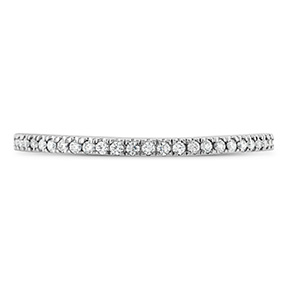 Brielle Curved Diamond Band